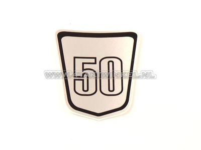 Sticker Dax emblem under seat, Skyteam, 50