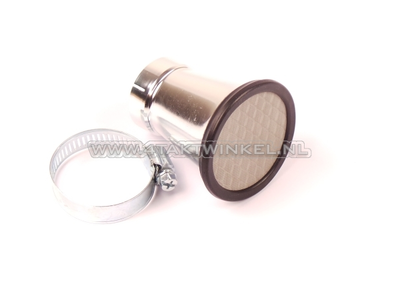 Power filter 35mm, chalice with mesh, universal