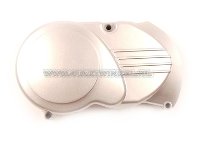 Ignition cover CDI universal, silver, short