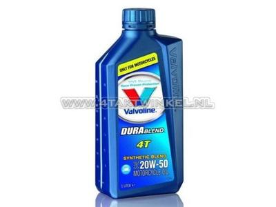 Oil Valvoline 20w-50 semi-synthetic, 4-stroke, 1 liter