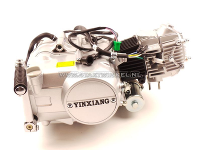 Engine, 70cc, manual clutch, YX, 4-speed, with starter motor