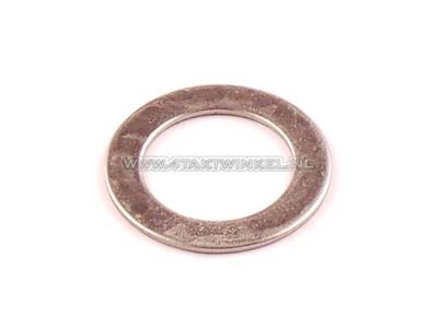 Kickstarter shaft, C50, Dax, 17mm ring, original Honda