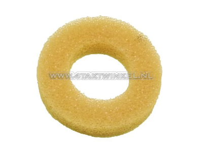 Air filter, foam ring between air filter and body, Novio, Amigo, PC50