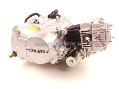 Engine, 50cc, manual clutch, YX, 4-speed, with starter motor