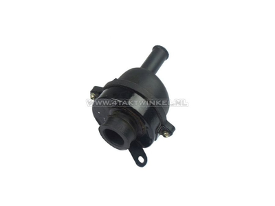 Air filter housing, Monkey, complete, 35mm, large connection, aftermarket