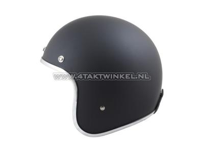 Helmet MT, Le Mans, Matt black, Sizes XS to XXL