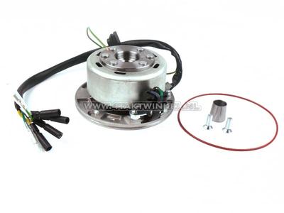CDI ignition set 6v tap, SS50, CD50, C50 Dax, light flywheel