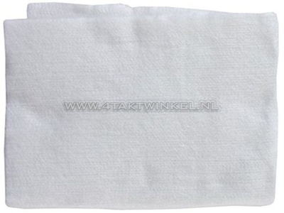 Silencer exhaust wool, universally applicable
