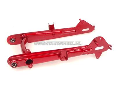 Swingarm C50, low model, red, aftermarket