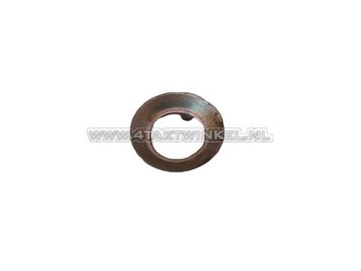 Clutch nut, locking plate, Novio, Amigo, original Honda