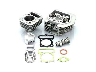 Cylinder kit, with piston & gasket & cylinder head 80cc, CB50, CY50, Kitaco