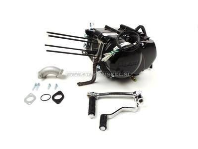 Engine, lower, manual clutch, Lifan, 4-speed, black