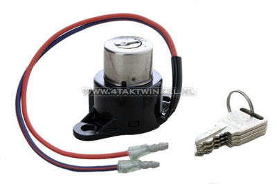 Ignition lock, C90 OT 2-pole (makes contact if on)