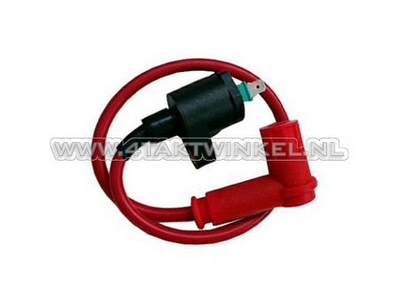 Ignition coil universal 12v CDI, red
