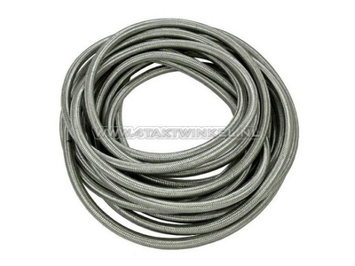 Oil hose, steel braided