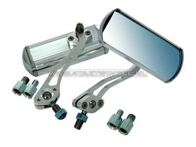 Mirror set, aluminum