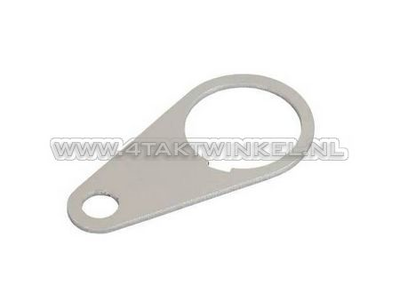 Ignition lock mounting plate, universal