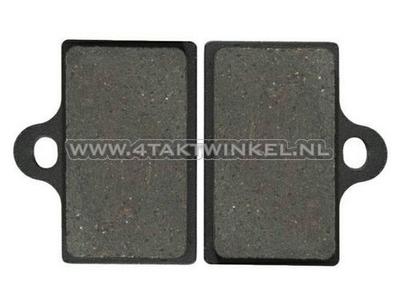 Brake pads, floating disc / universal