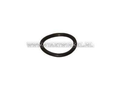 Oil dipstick rubber O-ring, C50, C310, C320, original Honda