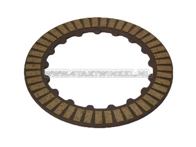 Clutch friction plate SS50, CD50, C50, Dax, PS50, double coated, original Honda