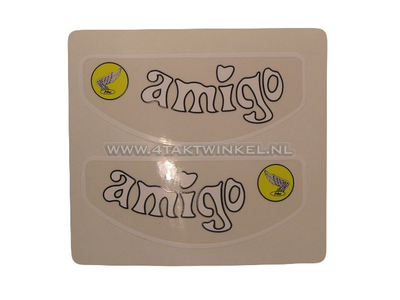Sticker Amigo frame tube, set
