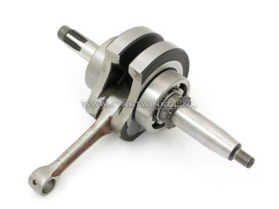 Crankshaft, 52mm stroke, 12 volt, 63mm cylinder, complete, race