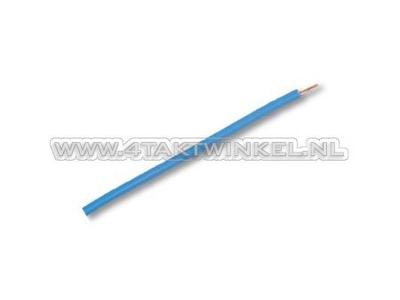 Wire per meter 0.75mm2, blue light