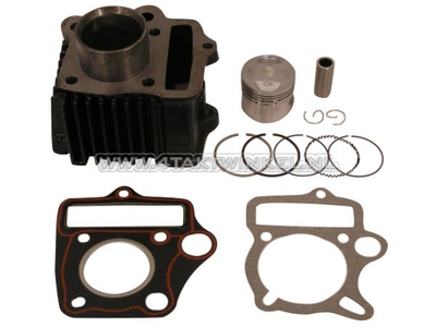 Cylinder kit, with piston & gasket 50cc, AGM, Skyteam, Honda NT, aftermarket