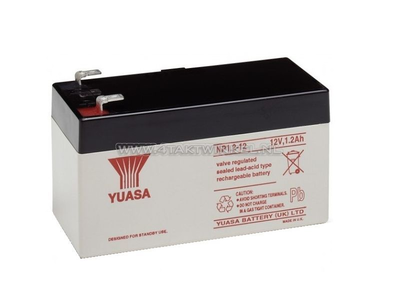 Battery 12 volt 1.2 ampere gel Yuasa