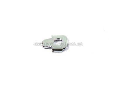 Legshield mounting plate, C50 NT, original Honda