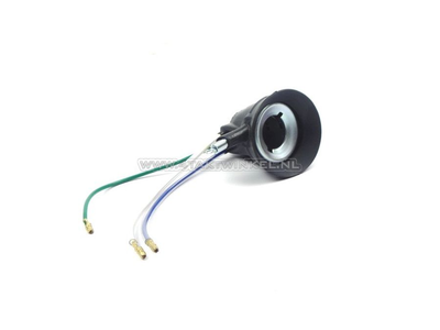 Socket headlight, Dax, C50, BA20d, original Honda