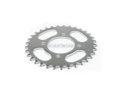 Rear sprocket C310, C320, 33 T 415 chain