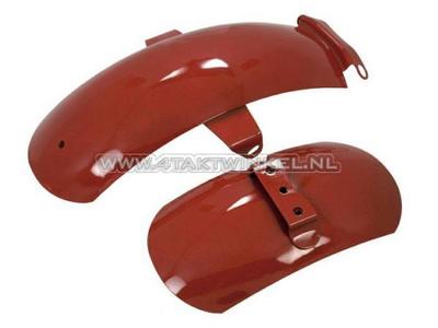 Mudguard set, Z50a aftermarket red