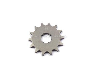 Front sprocket, 415 chain, 20mm shaft, 14, Novio, Amigo, PC50