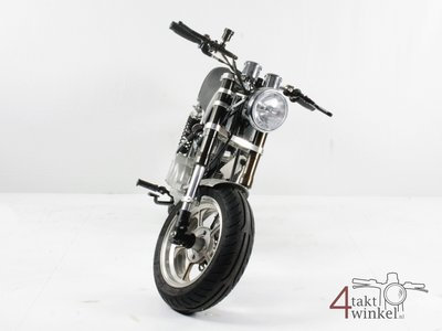 Honda CB50 (APE) with motorcycle papers