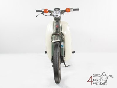 Honda C90 K1 Japanese, 51468 km, green, with papers!