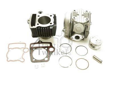 Cylinder kit, with piston & gasket & cylinder head 85cc, AGM, Skyteam, Honda NT, 49cc inscription