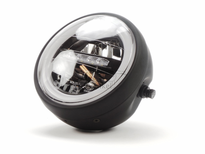 Headlight complete,  LED, Mash Seventy five