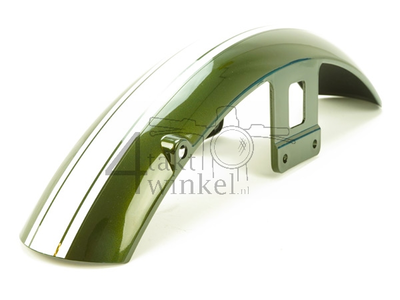 Mudguard front AGM Caferacer, Hanway RAW50, green