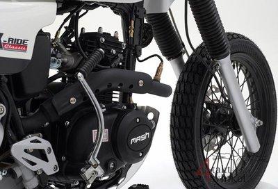 Mash X-ride, 50cc, Euro 5, White