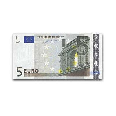 Dummy / fictief artikel á €5,-