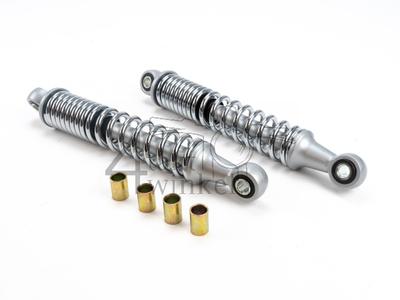 Shock absorber set 265mm 10-10/12, chrome