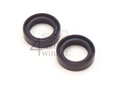 Front fork oil seals set 27-39-10.5 CB50 & CY50