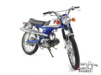Honda CL50, Scrambler, blue, 8163km
