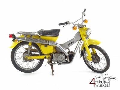 Honda CT50, Hunter Cub, yellow, 13504km