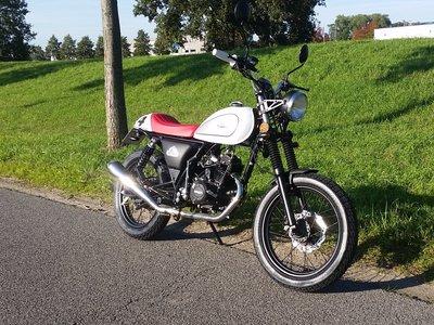 Mash Dirt track, 50cc, Euro 4, wit (niet standaard)