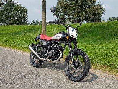 Mash Dirt track, 50cc, Euro 4, zwart