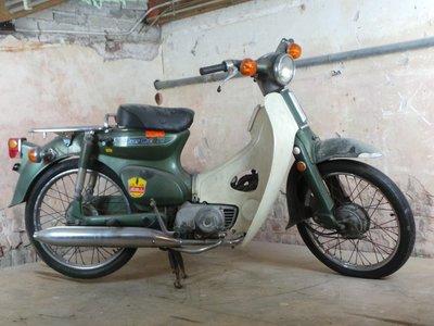 Fully restored! Honda C50 K1 Japanese, Nardo gray, 7359km