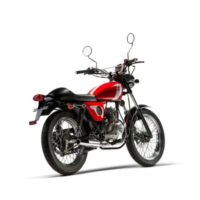 Mash Fifty, 50cc, rood, Euro 4