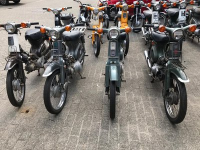 New on stock! Honda C50, C90, CD50, CD90, CL50, Little Cub 50, ST70